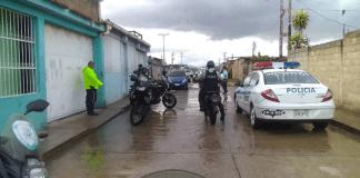 Policía de Carabobo en Las Palmitas