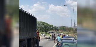 Protestas por suministro de gasolina en Carabobo