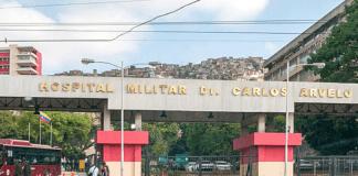 Roban insumos médicos del Hospital Militar