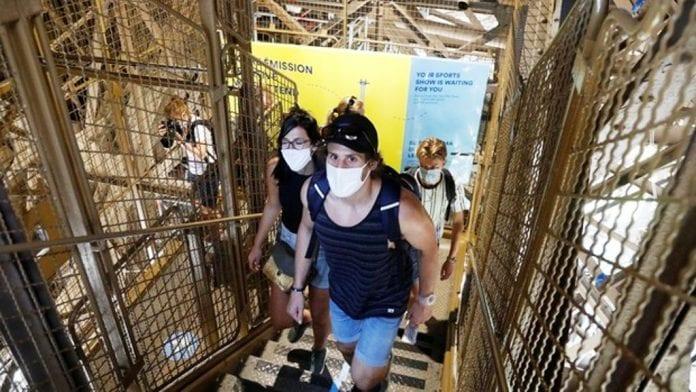 Torre Eiffel volvió abrir - noticias24 Carabobo