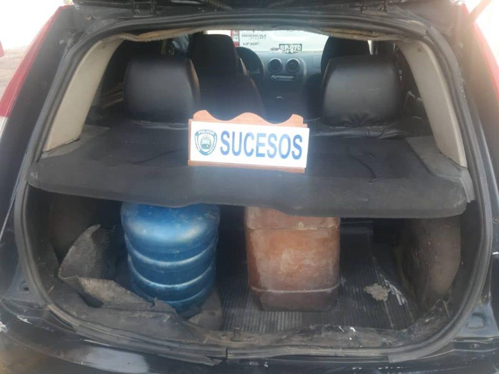 tráfico de combustible en Puerto Cabello