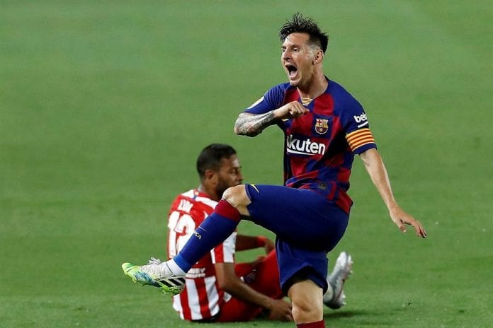 Atlético empató con Barcelona