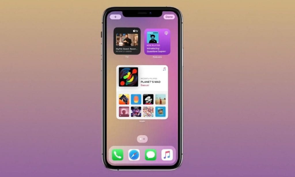 Apple presenta iOS 14