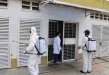 Jornada de desinfección contra el COVID-19