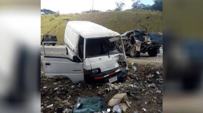 Accidente vía Bejuma