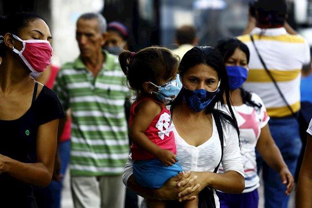 587 casos de COVID-19 en Venezuela