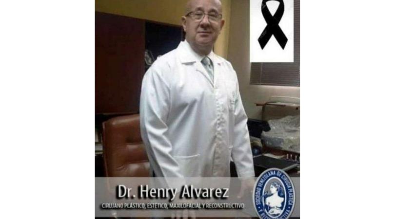 Fallecen médicos en Venezuela por COVID-19
