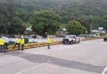 accidentes viales en viaducto La Cabrera