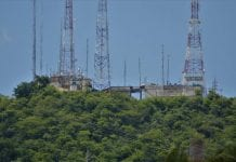 Torres de transmisión del Cerro Copey - Torres de transmisión del Cerro Copey