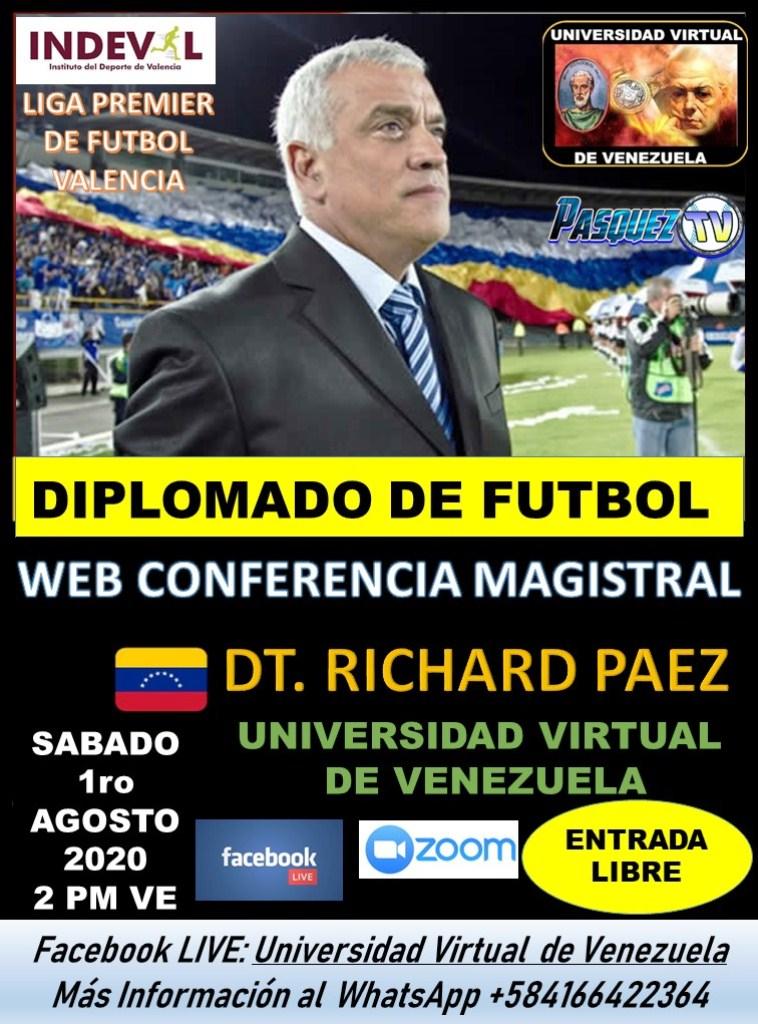 Richard Páez dictará conferencia - noticias24 Carabobo