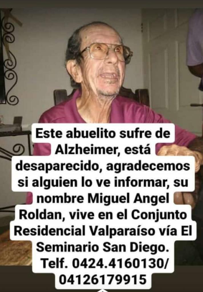 Abuelo Miguel Ángel Roldán - Abuelo Miguel Ángel Roldán