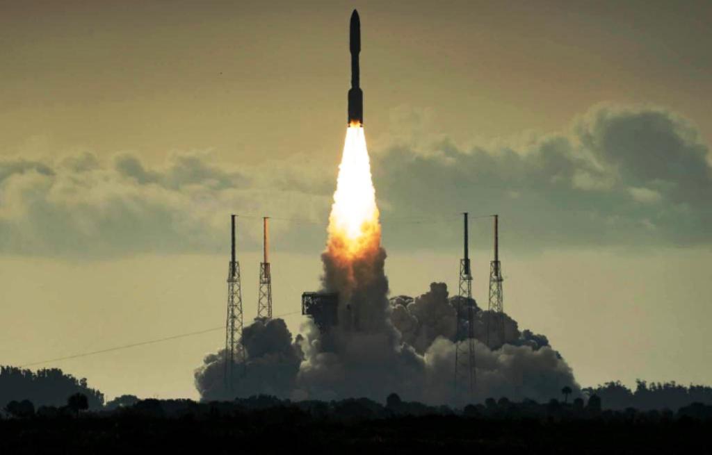 Despega misión a Marte