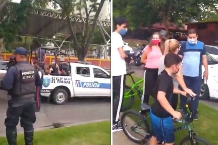 Personas detenidas en El Trigal - Personas detenidas en El Trigal