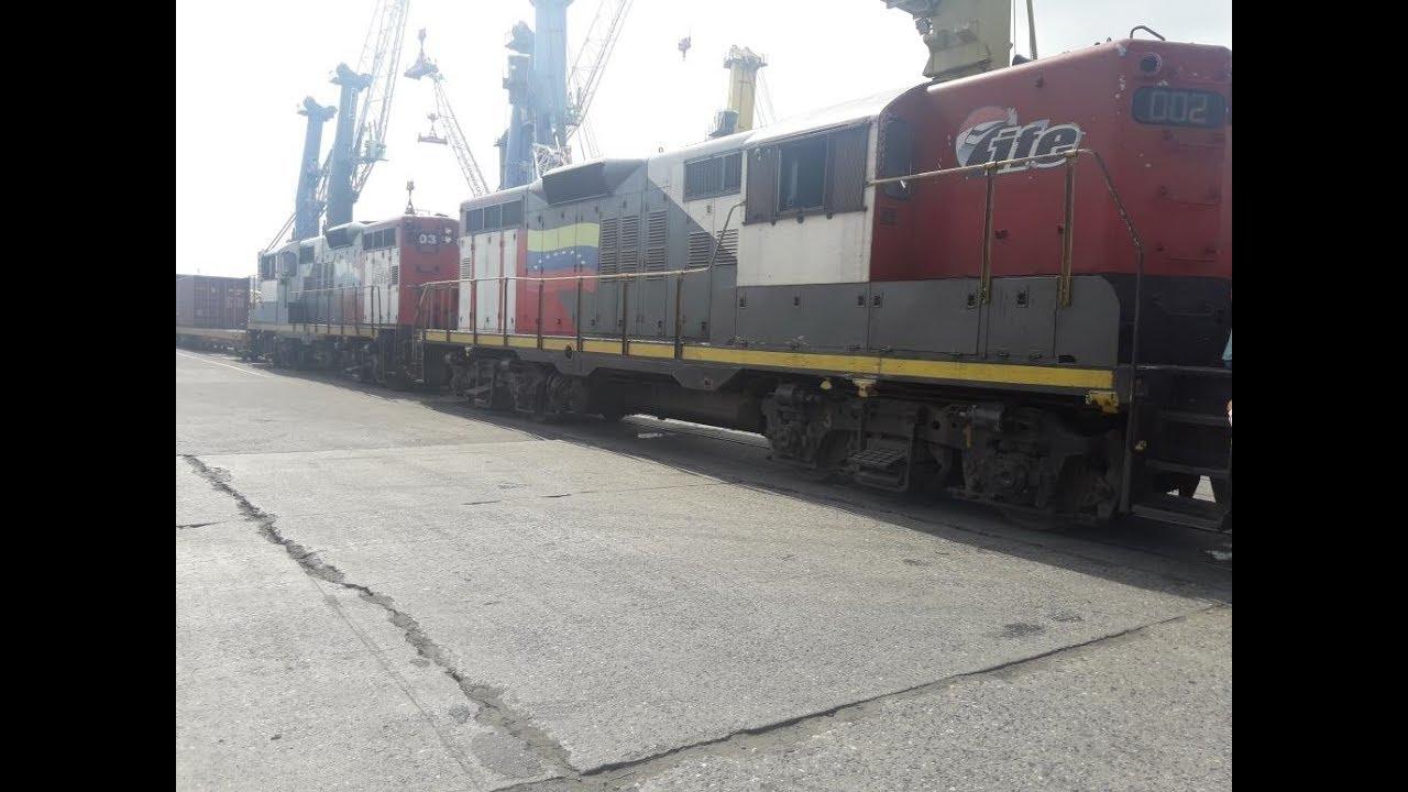 El tren de Puerto Cabello - El tren de Puerto Cabello