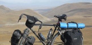 Venezolano que viaja en bicicleta - Venezolano que viaja en bicicleta