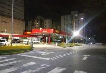 Pernocta en las bombas de gasolina - Pernocta en las bombas de gasolina