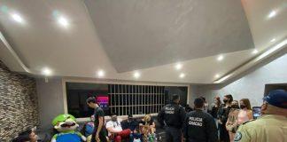 Detenidos jóvenes en Chacao