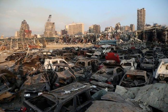 Explosión en el Líbano - Explosión en el Líbano