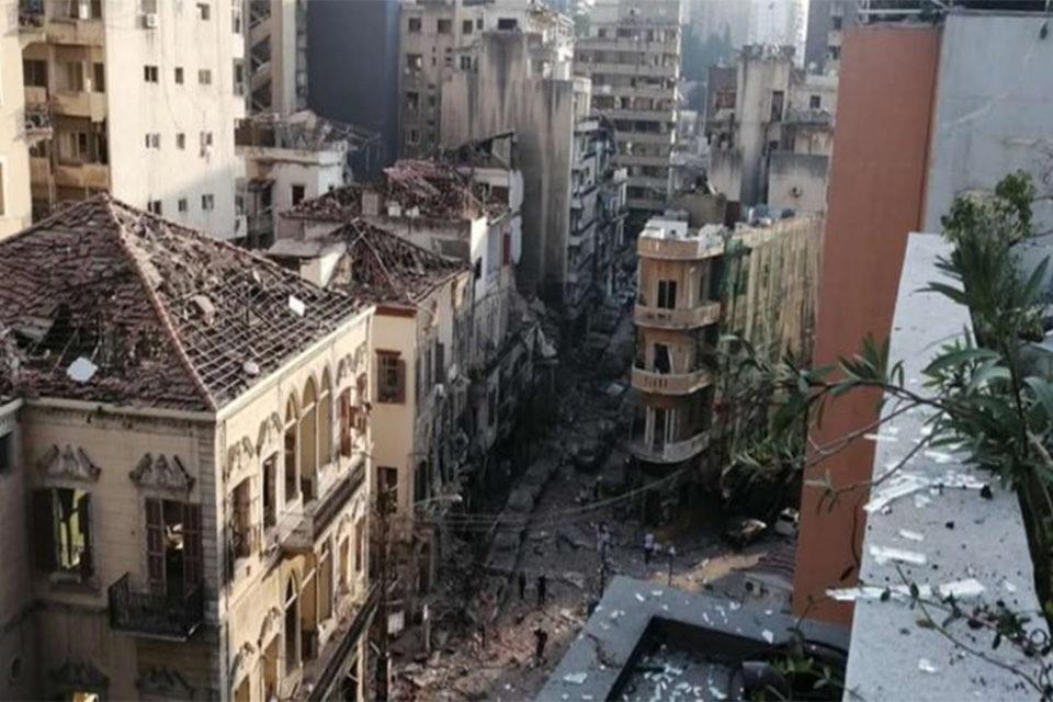 Beirut zona de desastre - Beirut zona de desastre
