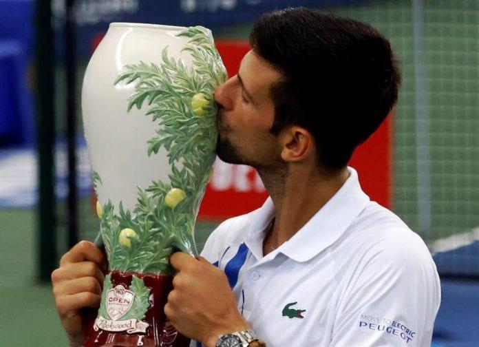 Djokovic extendió racha invicta - noticias24 Carabobo