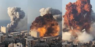 Fuerte explosión en el puerto de Beirut