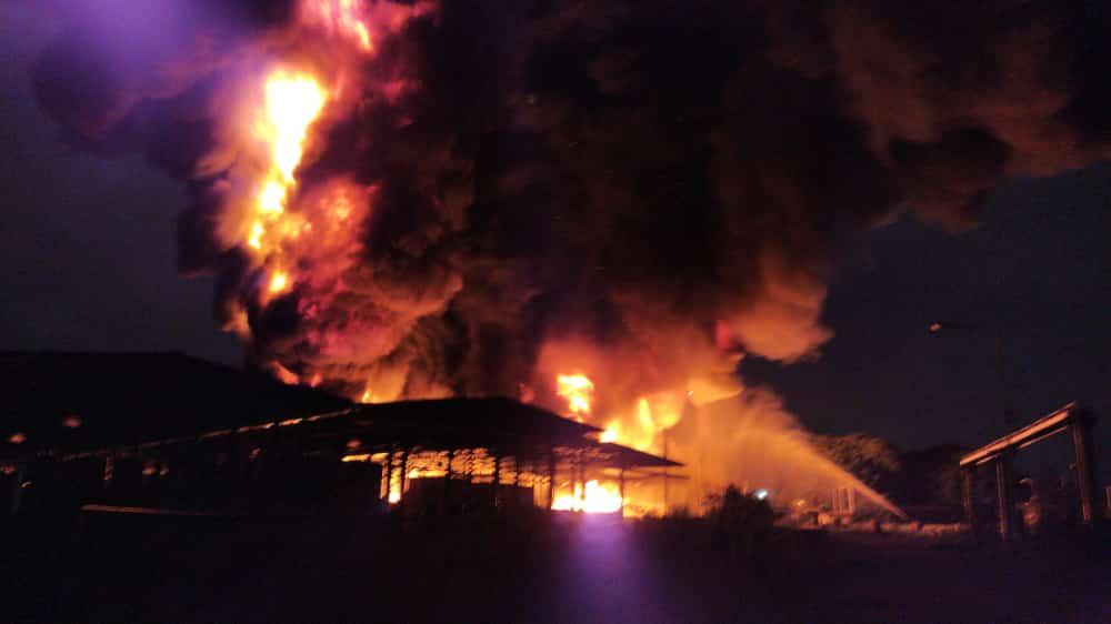 Incendio en Good Year - Incendio en Good Year