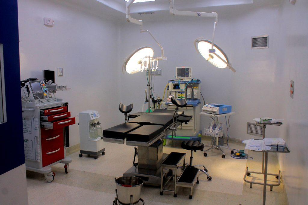nueva área del Hospital Adolfo Prince Lara
