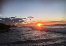 Una puesta de sol en Choroní - Una puesta de sol en Choroní