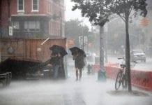 Isaías deja un muerto en Nueva York . noticias24 Carabobo