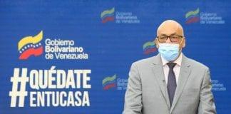Jorge Rodríguez con COVID-19