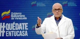 Jorge Rodriguez superó el coronavirus - noticias24 Carabobo