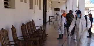 Jornadas de desinfección contra el COVID-19