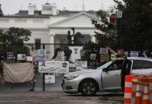 Tiroteo afuera de la Casa Blanca