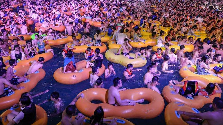 Fiesta en Wuhan