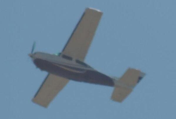 Avioneta ilegal en Paraguaná - Avioneta ilegal en Paraguaná