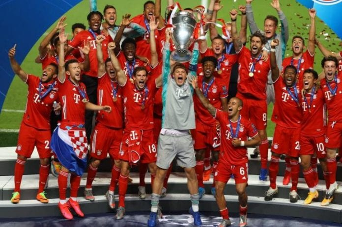 Bayern Munich campeón - Bayern Munich campeón