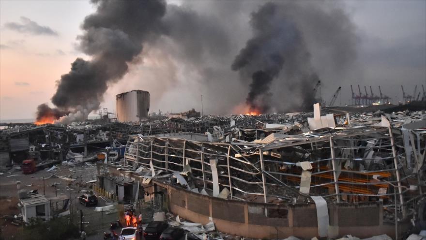 La tragedia de Beirut - La tragedia de Beirut
