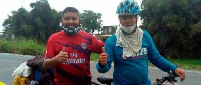 Ciclista Dóuglas Pérez - Ciclista Dóuglas Pérez