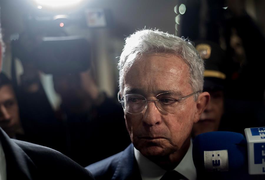 detención de Álvaro Uribe