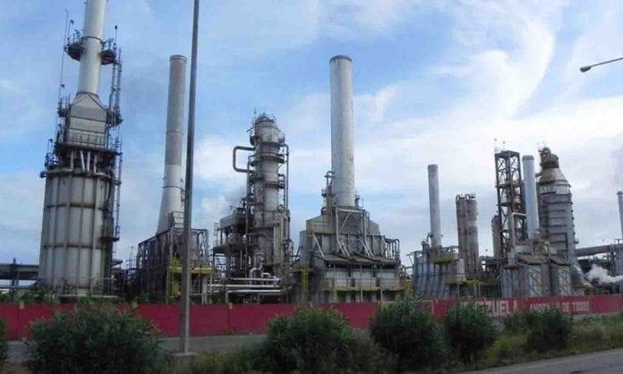 Falla en la Refinería El Palito - Falla en la Refinería El Palito