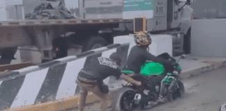 Motorizados atascados - Motorizados atascados