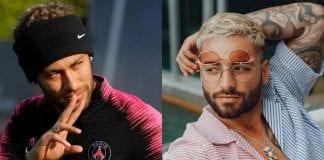 Escándalo entre Neymar y Maluma