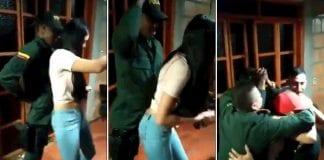 Policías que perreaban en Colombia - Policías que perreaban en Colombia