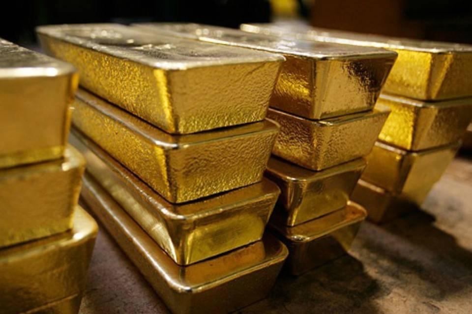 Reservas de oro en el Banco Central