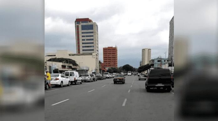Colas de la gasolina en Venezuela