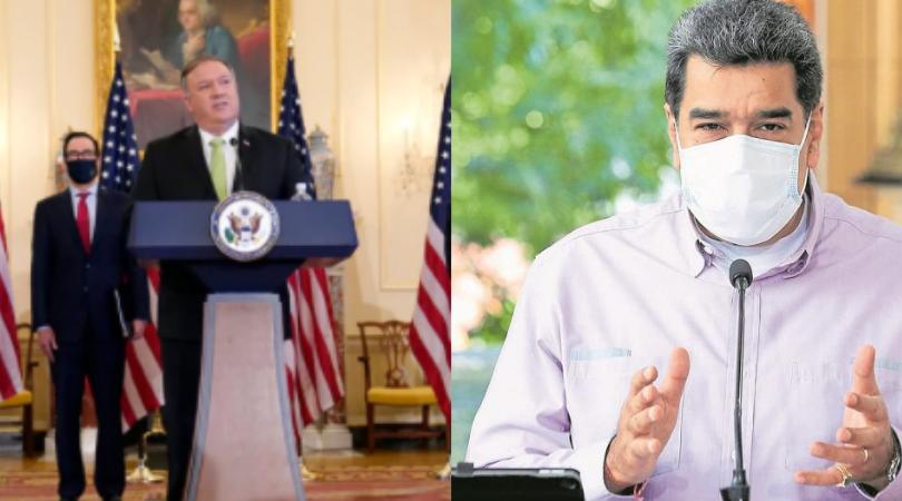 EEUU anuncia sanciones contra Maduro