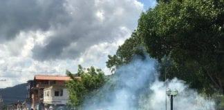 protesta en Chivacoa