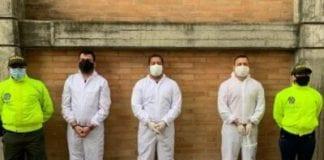 Colombia detiene a cuatro venezolanos