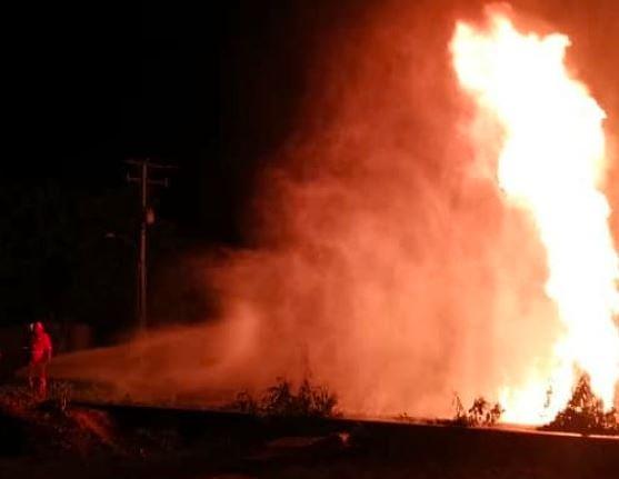 Explosión por combustible en Cabimas