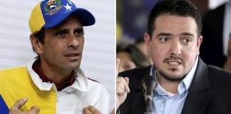 Henrique Capriles y Stalin González